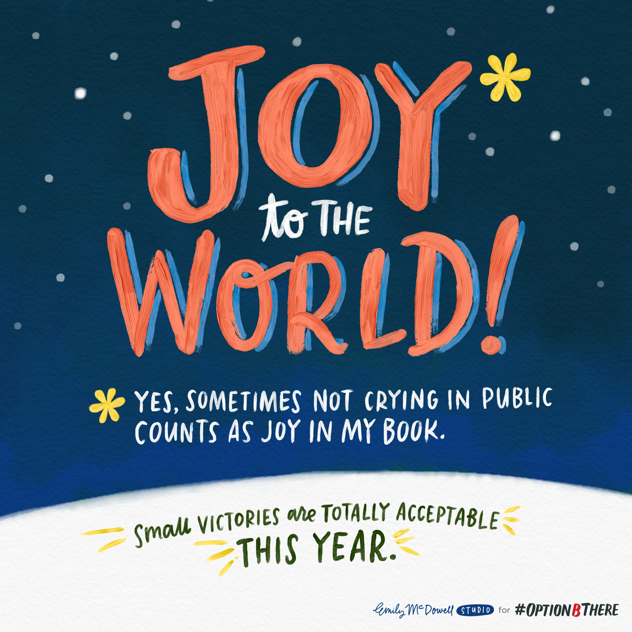 Quirky Holiday Cards For Less Than Happy Holidays Optionb